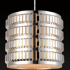 Lámpara colgante metálica 1 luz