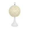lampara de ezfera blanca