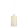 lampara elegante para recamara blanca